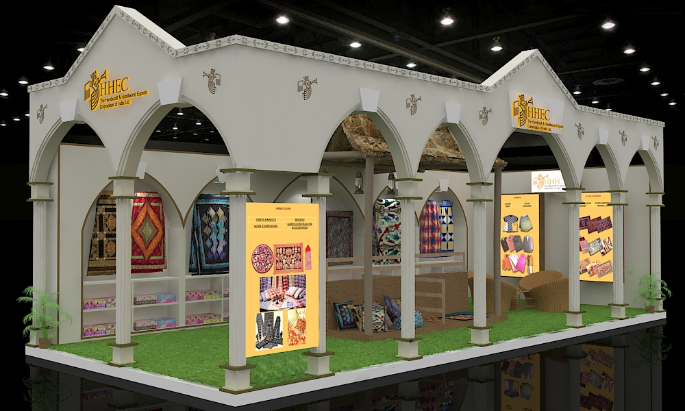 Welcome To Nikhiraj Exhibits 187 Stall Design Outsourcing